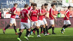 HIFK besegrade KPV i fotbollsettan.