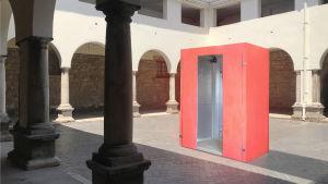 plats där isabella chydenius blivit utsatt för sexuella trakasserier