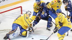 Finland-Sverige i ishockey.