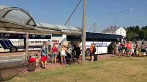 Bussarna som trafikerat till och från Vasa hamn slutar gå vid årsskiftet.
