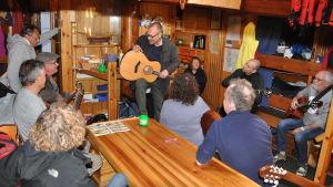 Niklas Nylund, workshop i gitarrspel, Trubadurskeppet