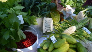 Grönsaker på September Open