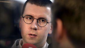 Sebastian Tynkkynen tredje viceordförande för Sannfinländarna