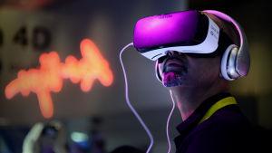 Vr-hjälmen Samsung Gear VR