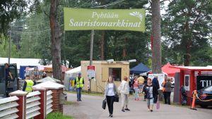 Pyttis Skärgårdsmarknad 2017.