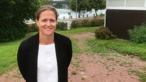 Susann Simolin, biträdande direktör vid Ålands fredsinstitut.