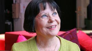 Kuvassa matematiikanopettaja Maarit Rossi, joka valittiin maailman kymmenen parhaan opettajan joukkooon