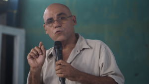 Sociolog och politisk analytiker Adolfo Hurtado.