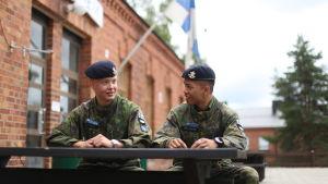 André Kultanen och Daniel Niklander.