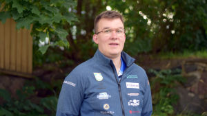 Porträttbild på Joni Stenström.