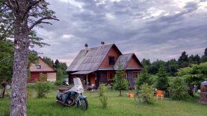 Viktor Iljinin talon piha