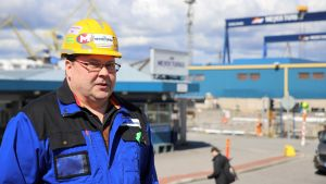 Huvudförtroendeman Juha Jormanainen