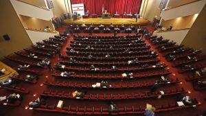 Det libyska parlamentet håller session