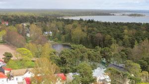 Parkdammen i Hangö.