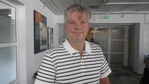 Richard Palmer från Ålands statistik- och utredningsbyrå