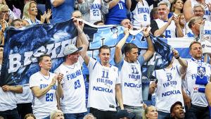 Finska basketfans.