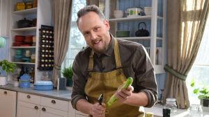 Kocken Anders Samuelsson i Strömsös kök