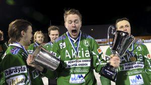 Matti Vainio jublar