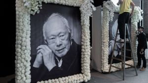 Singapores långvarige premiärminister Lee Kuan Yew dog den 23 mars 2015.