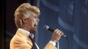 David Bowie Serious Moonlight -kiertueella Göteborgissa 11-12.6.1983.
