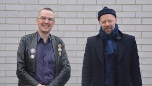 Dan Idman och Erik Salvesen.