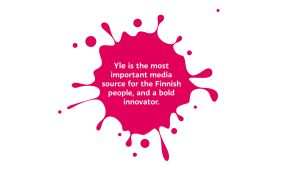 Yle's mission in English.
