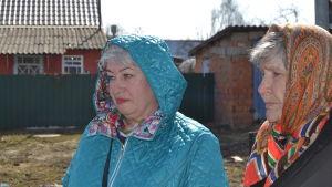 Galina Larionova, aktivist för bättre sophantering.