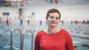 Maria Ekman-Ekebom, undervisningschef i Grankulla inom den svenskspråkiga undervisningen.