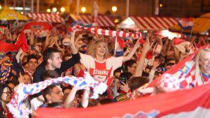 Kroatiska supportrar