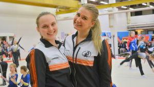 Josefin Ekman och Amanda Hämäläinen är tränare inom föreningen Vasa Redskapsfantaster.