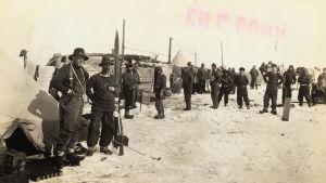 Ernest Shackleton och besättningen på skeppet Endurance