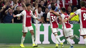 Ajax säkrade sin plats i Champions League gruppspel.