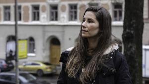 Sara Zacharias som är dotter till Ted Gärdestad