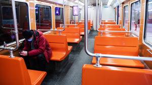 Metroasema Espoossa.