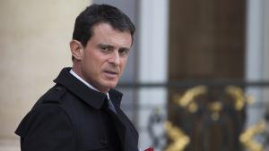 Frankrikes premiärminister Manuel Valls.