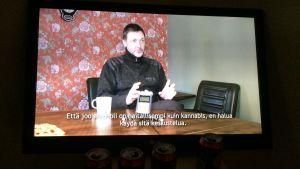 Oscar Hagen: Videostill från Konstapel Nyman