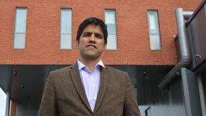 Krish Sankaran, doktor i teknik, leder enheten för forskning inom energi på Vasa universitet.