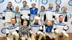 Finlands OS-dräkter visas upp.