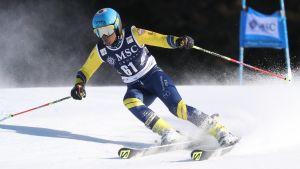 Mialitiana Clerc tävlar för Madagaskar i vinter-OS.