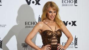 Näyttelijä Kylie Minogue