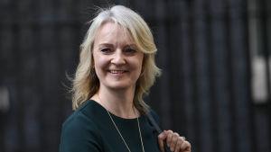Storbritanniens minister för internationell handel Liz Truss.