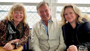 Inger Nilsson, Leif Jakobsson och Maria Sid.