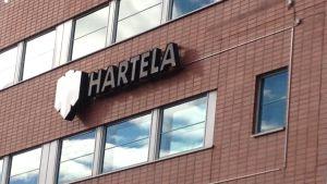 Byggbolaget Hartelas kontor.