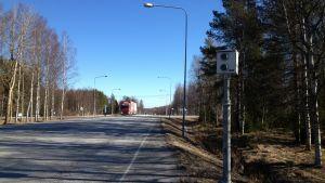 Riksväg åtta i Kronoby.