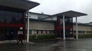 Huvudhälsocentralen på Mariegatan i Karleby
