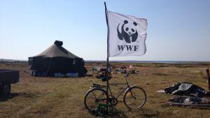 WWF:s talkoläger på Jurmo.