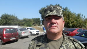 Överste i Ukrainas armé