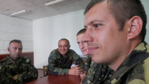 Ukrainska soldater