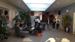 Yrkesakademins aula i Närpes