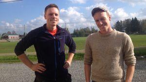Jan Lillhannus och Robin Grindgärds